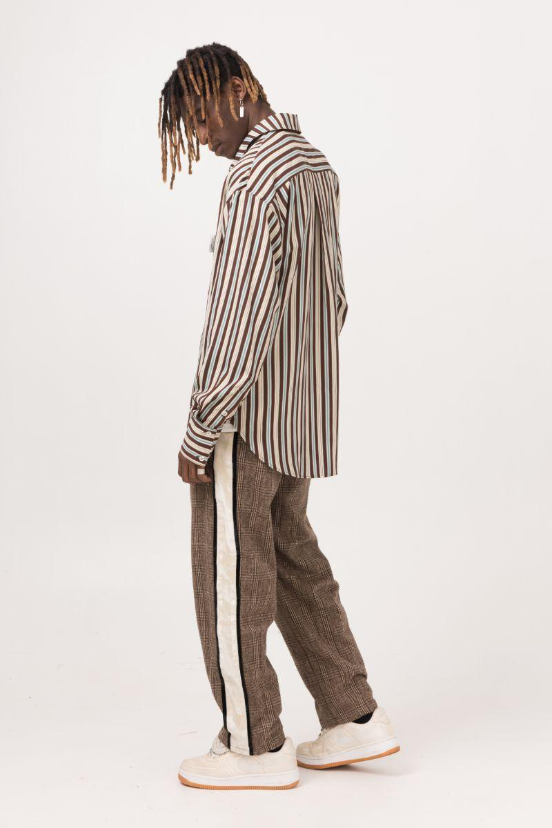 Empty Reference Striped Retro L/S Shirt