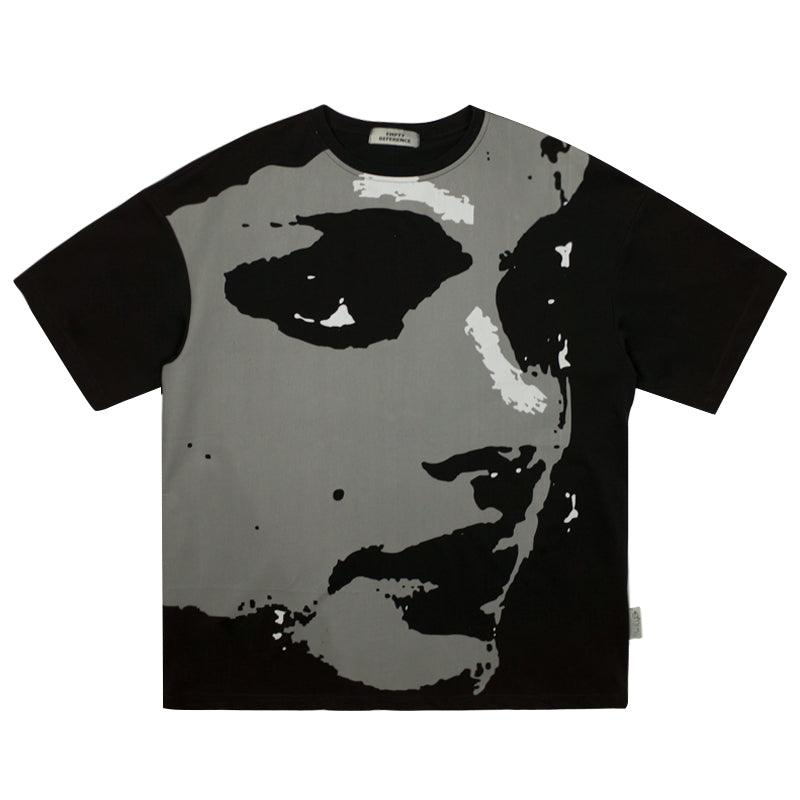 Empty Reference Portrait Printed Tee