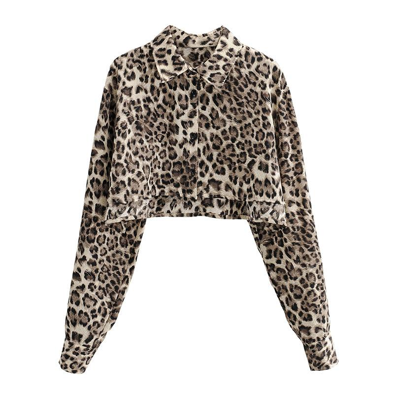 CZ Safari Cropped Shirt
