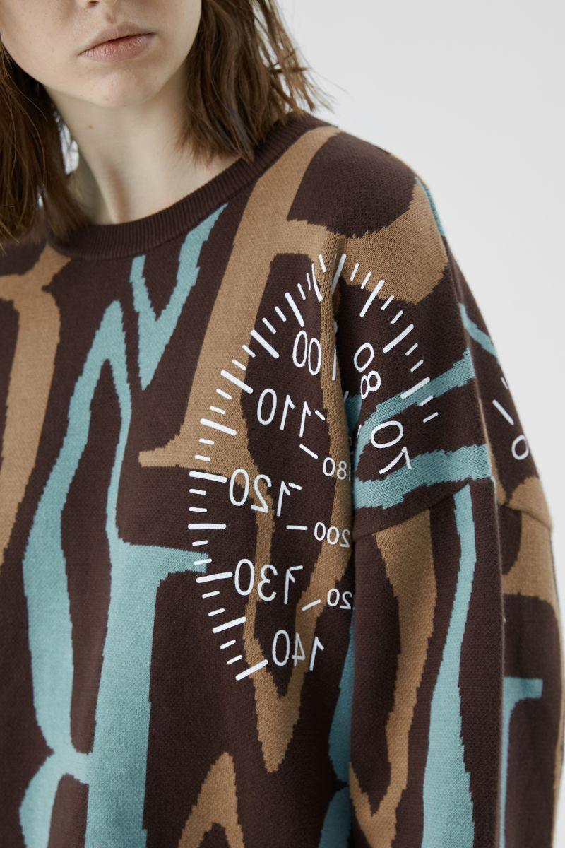 BLIND Speedometer Knit Sweater