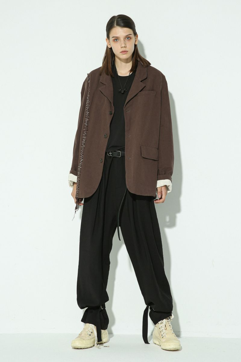 Unknown World Asymmetrical Stitched Suit