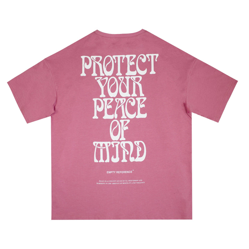 Empty Reference Peace of Mind Tee