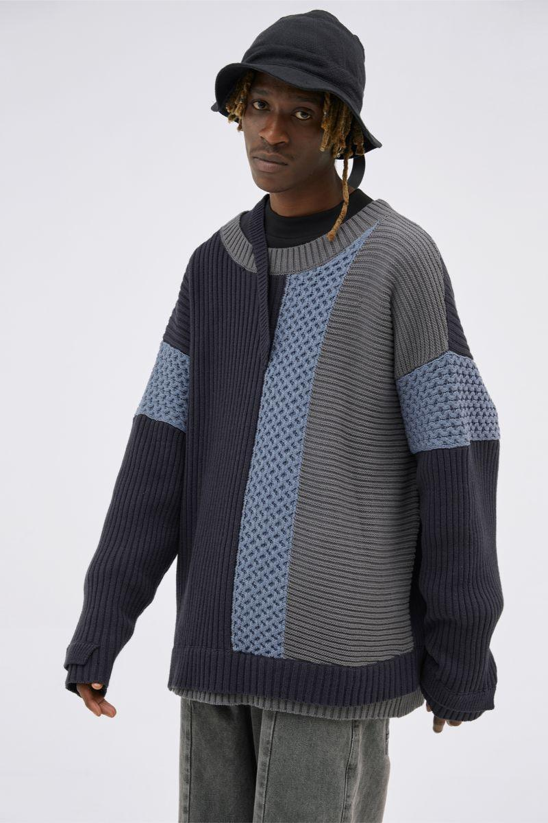 BLIND Knitted Loose Sweater