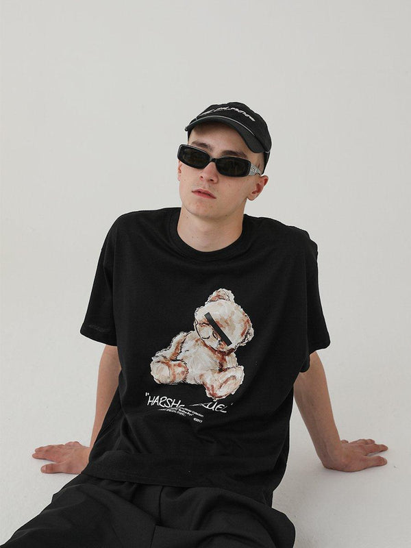 H/C Toy Bear Logo Tee