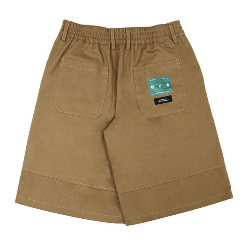 Empty Reference Coffee Loose Shorts