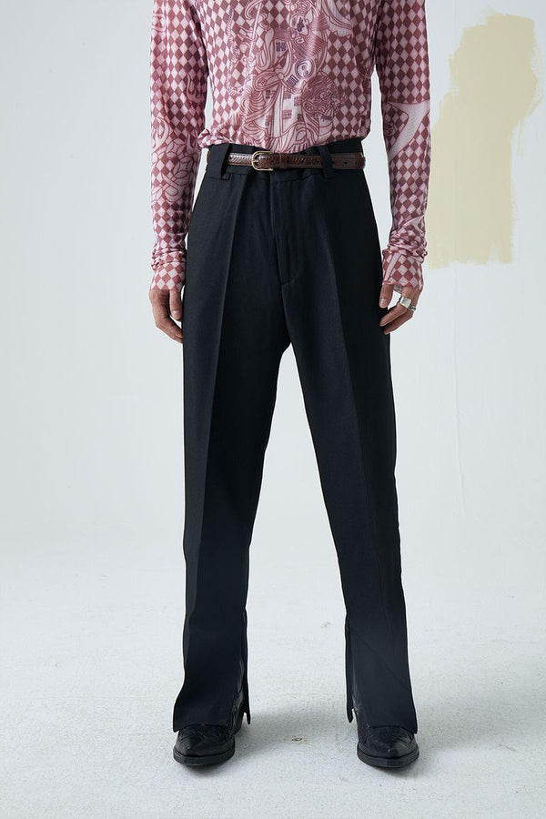 Mix7 Flared Suit Trousers