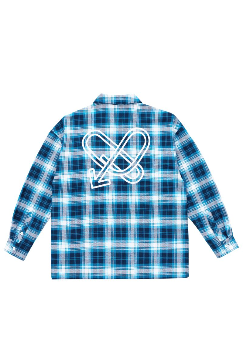 STEEPC Checkered Love L/S Shirt