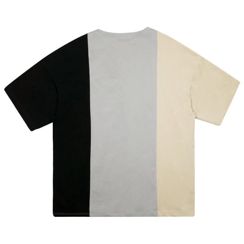 Empty Reference Mixed Stitched Tee