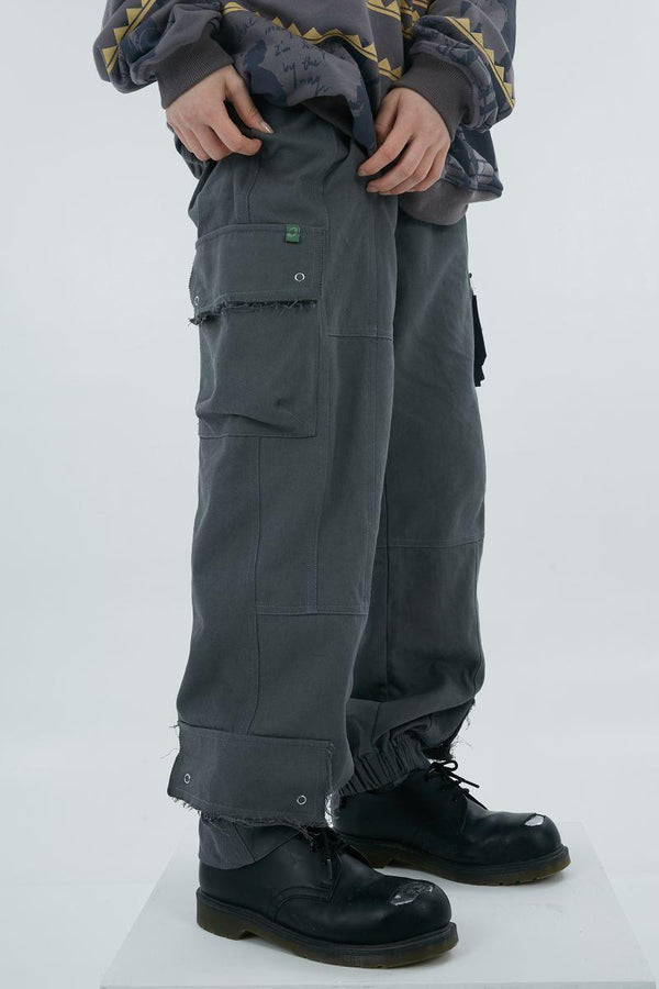 BLIND Belt Multi Pocket Trousers