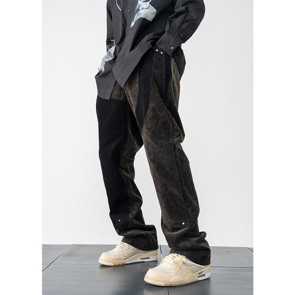 H/C Irregular Corduroy Trousers