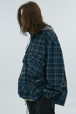 BLIND Checkered Embroidered Shirt