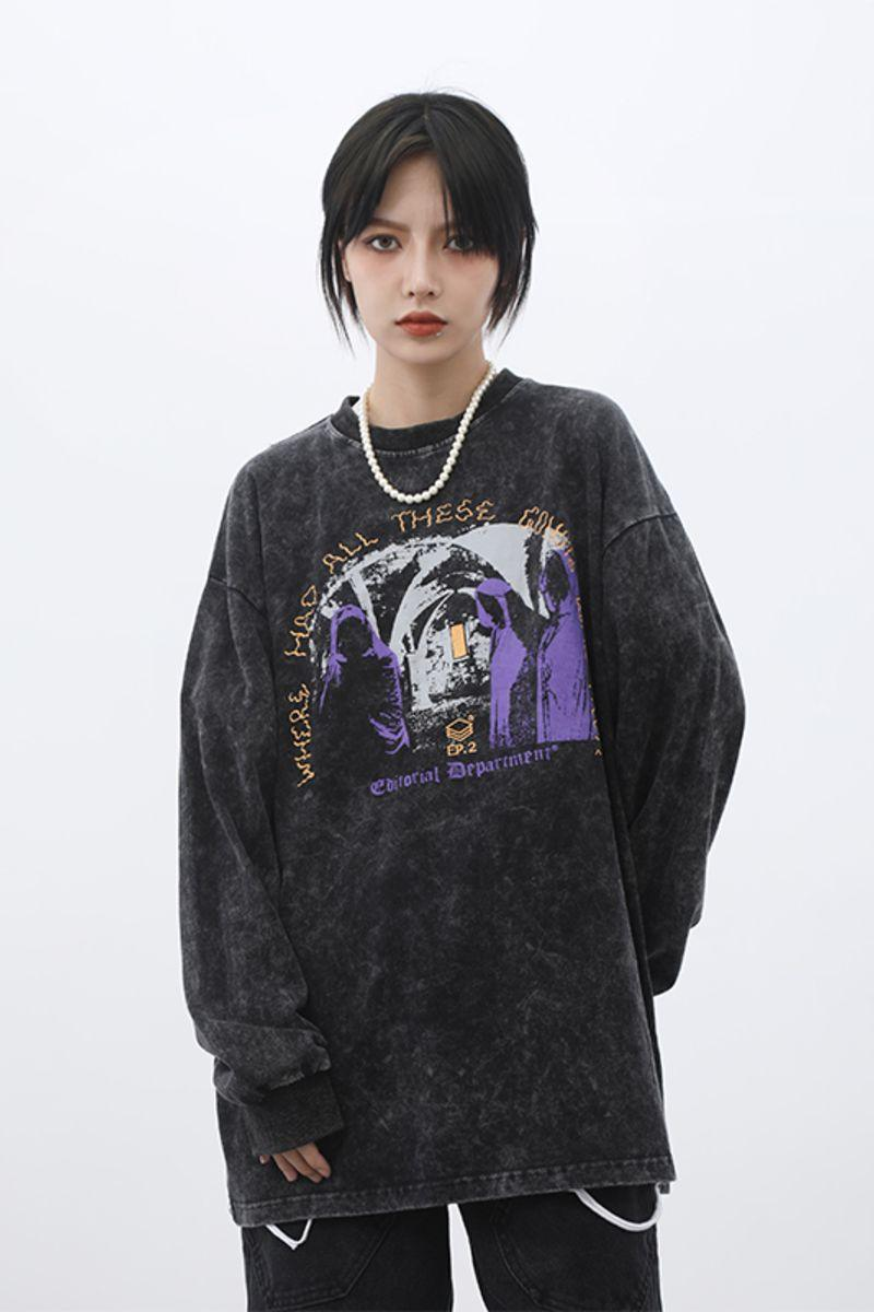 CZ ED Ghosts Sweater