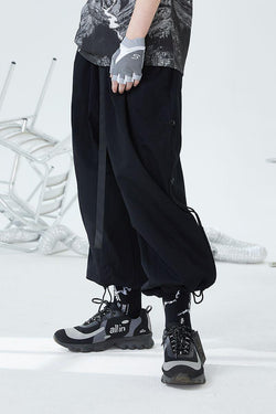 H/C Adjustable Basic Loose Pants