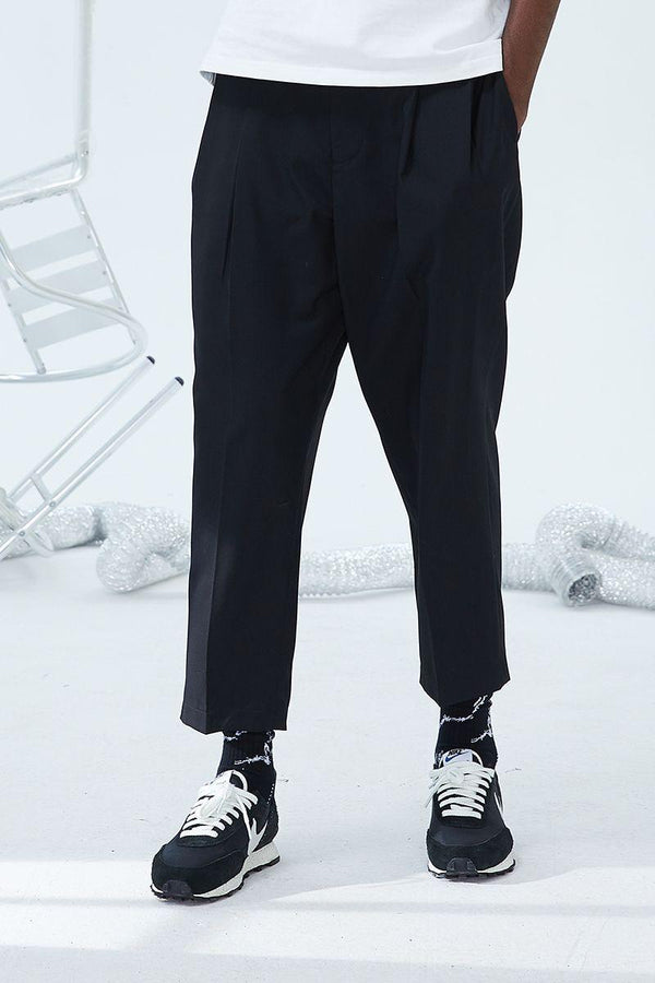 H/C Basic Straight Trousers