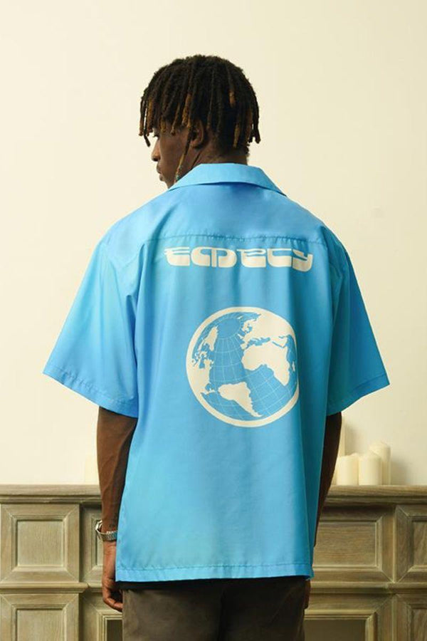 Empty Reference Logo Planet Cuban Shirt
