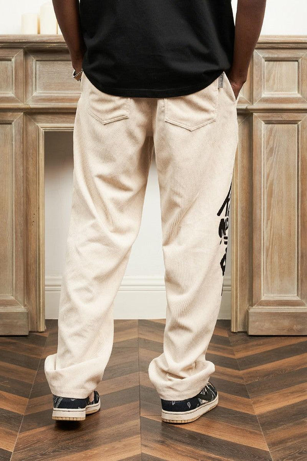 Empty Reference Redemption Corduroy Straight Trousers