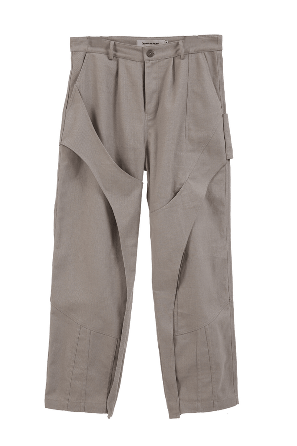 BLIND Stitched Openwork Trousers