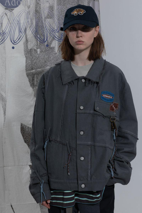 BLIND Distressed Retro Jacket