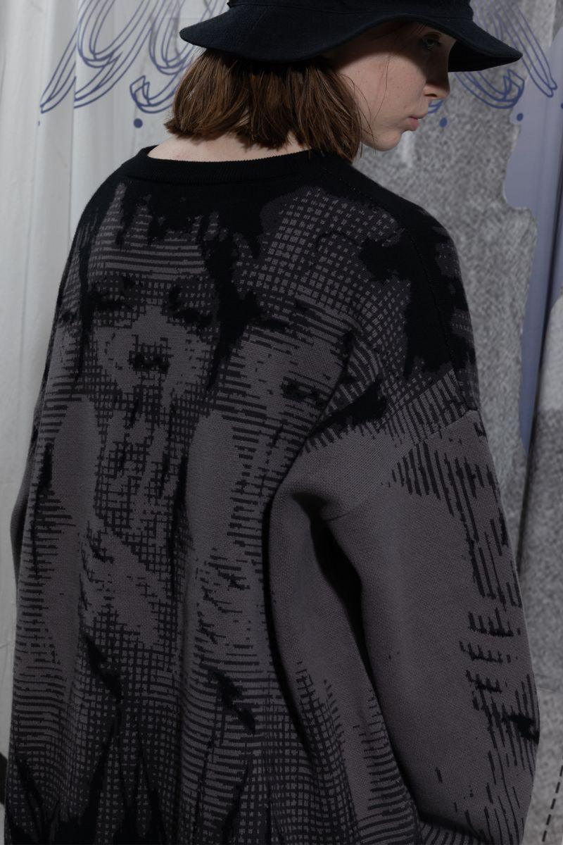 BLIND Loose Knitted Sweater