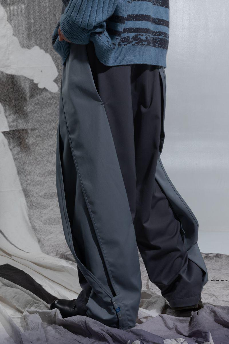 BLIND Twisted Loose Trousers