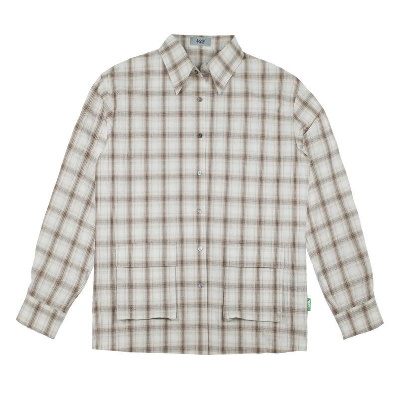 CZ Light Plaid L/S Shirt