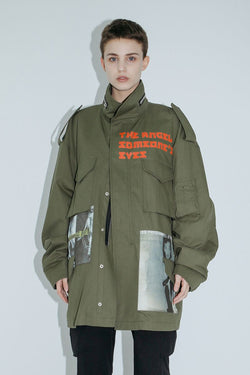Unknown World M-65 Multi Pocket Washed Jacket