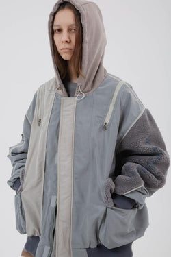 BLIND Stitched Hooded Jacket