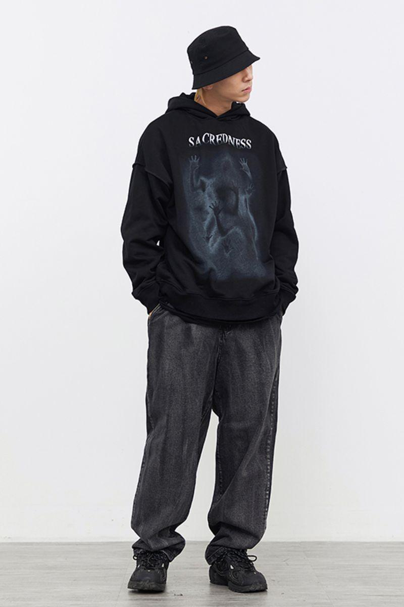 CZ Ghosts Hands Loose Hoodie