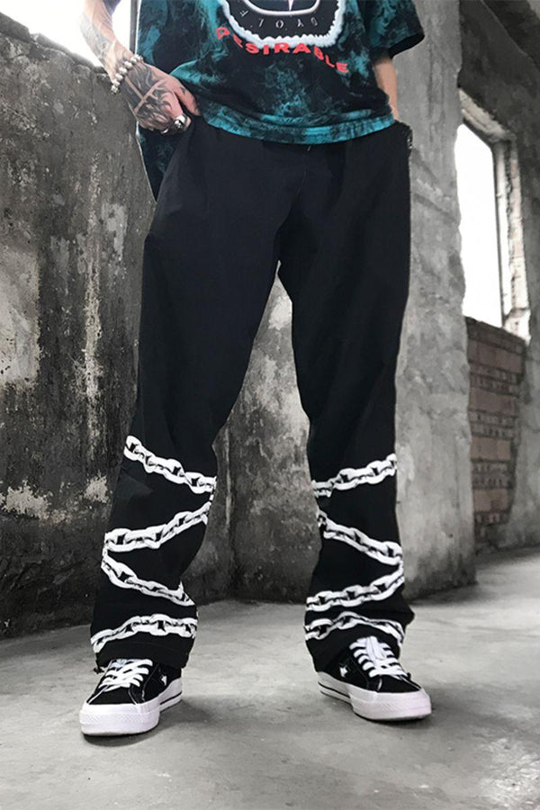 CZ Chains Straight Trousers