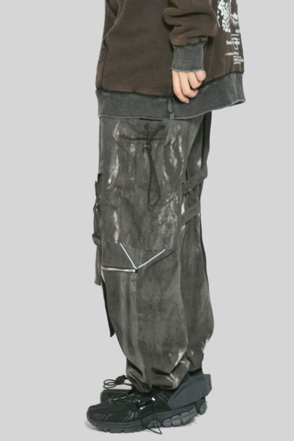 Observer Lab Washed Straps Cargo Pants