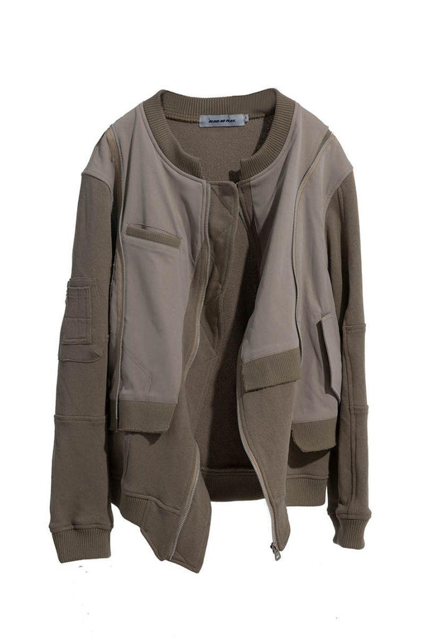 BLIND Irregular Stitched Jacket