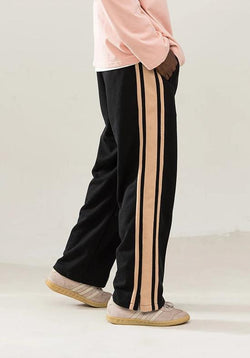 Empty Reference Straight Track Trousers