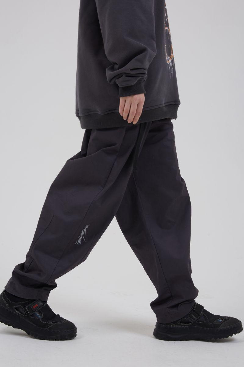 BLIND Logo Adjustable Straight Trousers