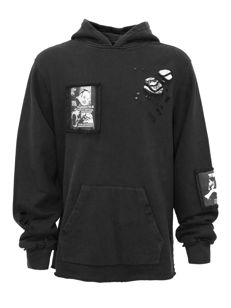 Unknown World Death Before Dishonor Hoodie