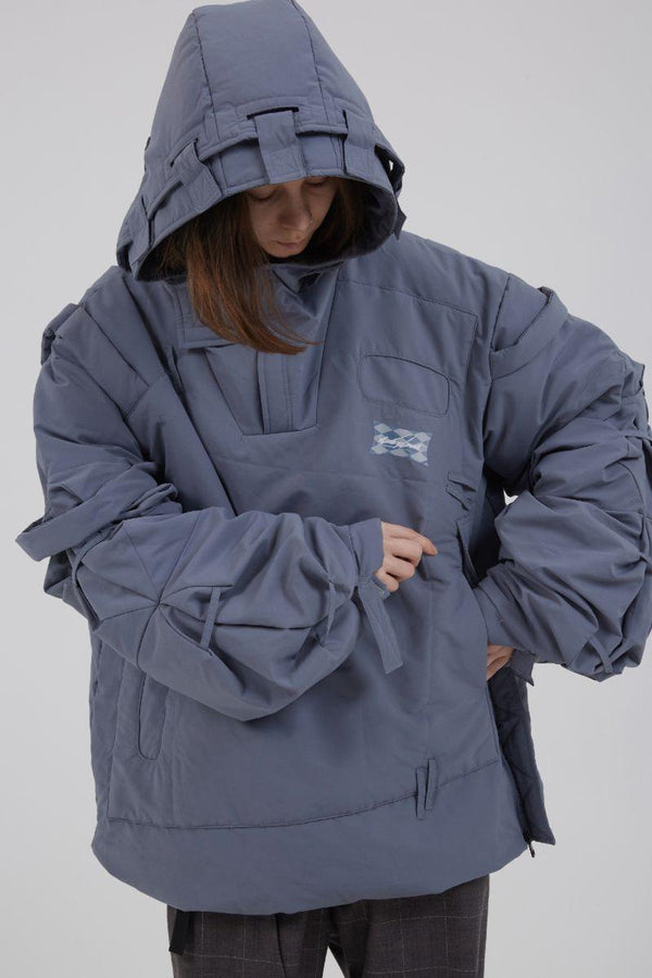 BLIND Cyberpunk Loose Down Jacket