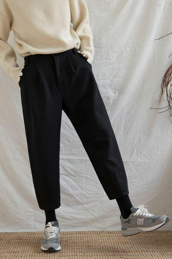 CZ Woolen Straight Trousers