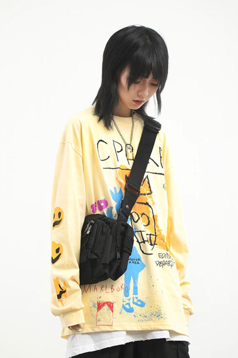CZ ED Graffiti Sweater
