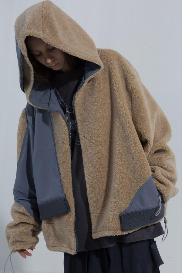 BLIND Reversible Sherpa Coat