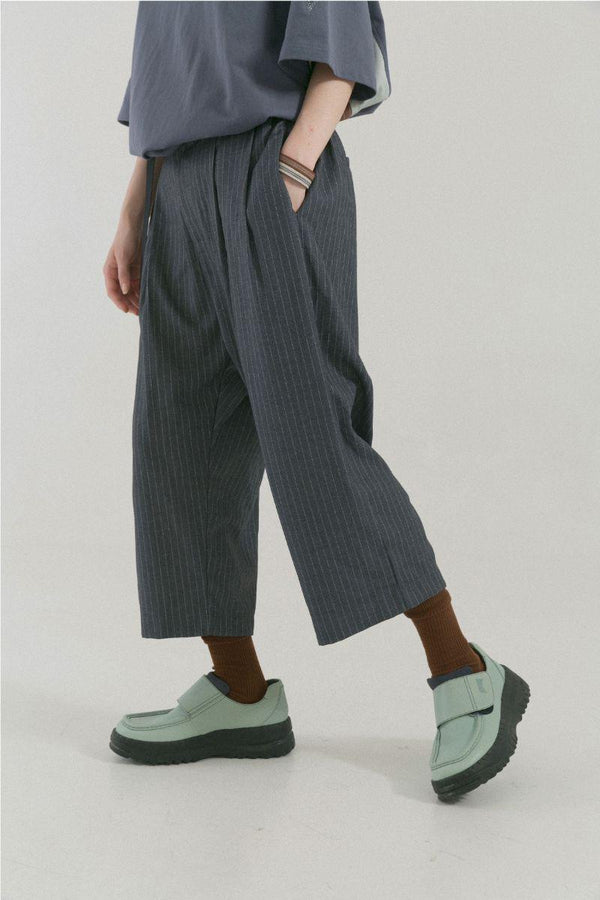 BLIND Striped Loose Cut Pants