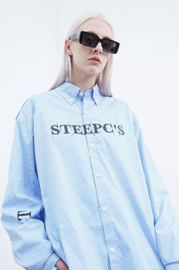 STEEPC Logo Printed L/S Shirt