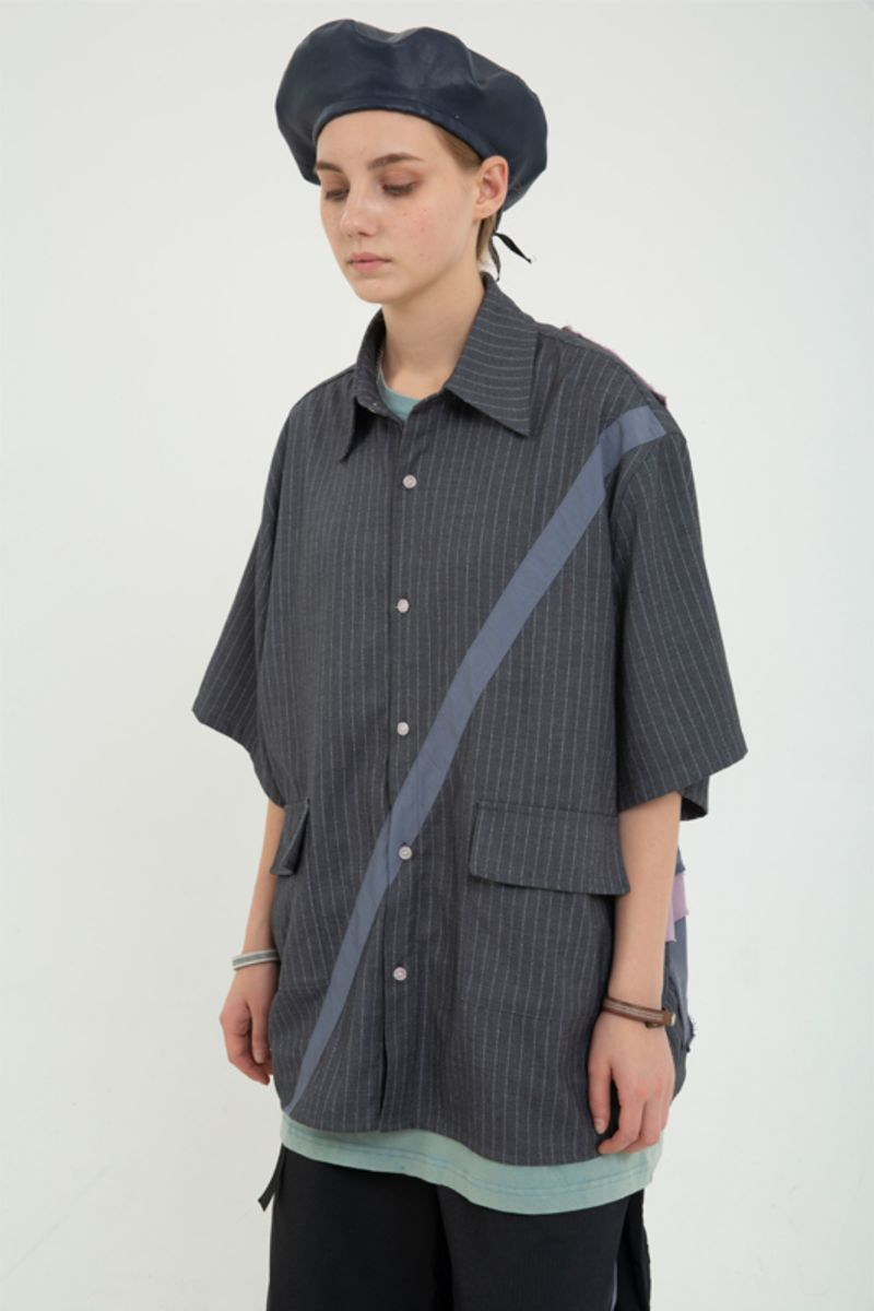 STEEPC X BLIND Structure S/S Shirt