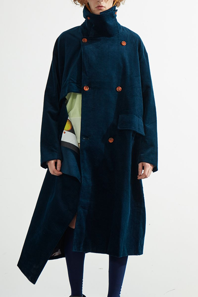 Mix7 Retro Corduroy Coat