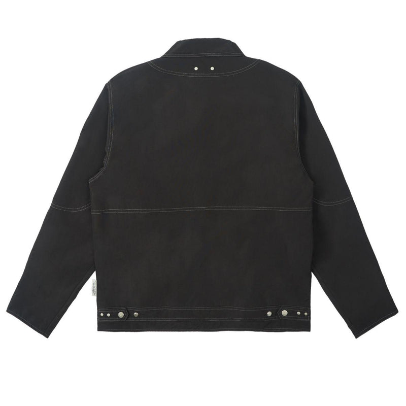 Empty Reference Structure Zipper Jacket