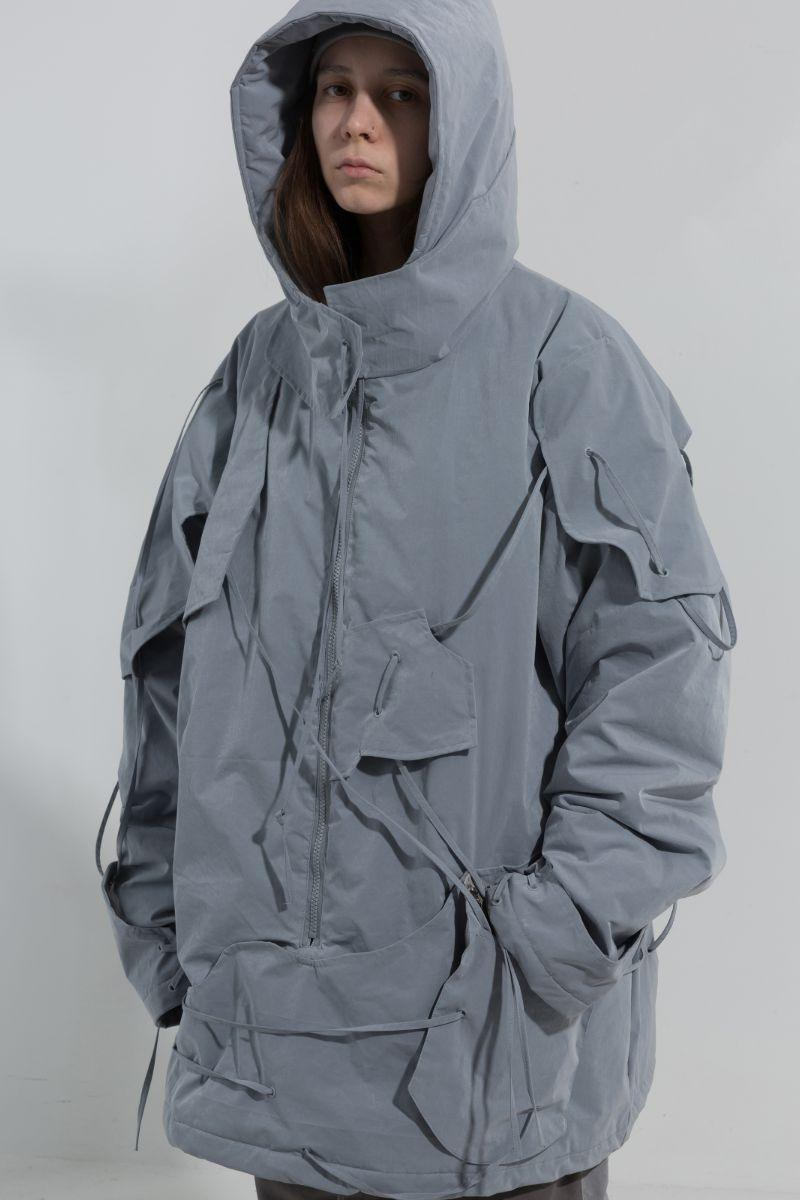 BLIND Dystopian Structure Coat