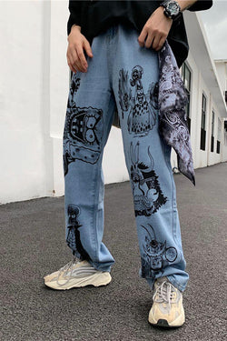 CZ Yonko Painted Loose Denim