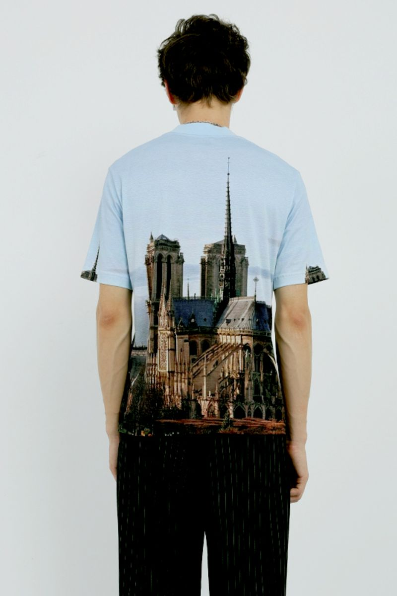 Mix7 Notre Dame Printed Tee