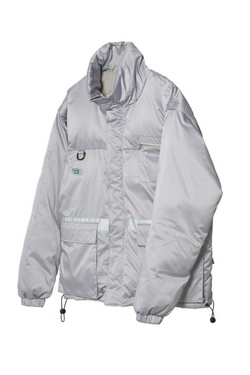 Observer Lab Detachable Sleeves Down Coat