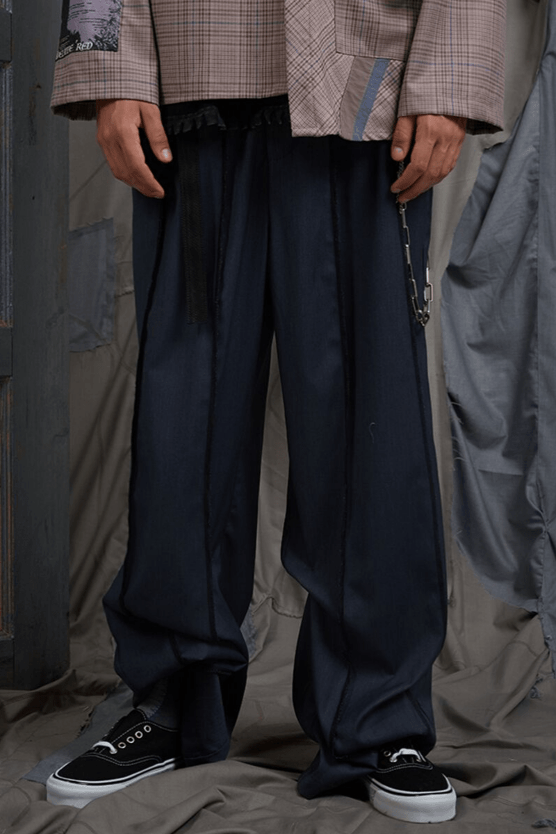 BLIND Loose Suit Trousers