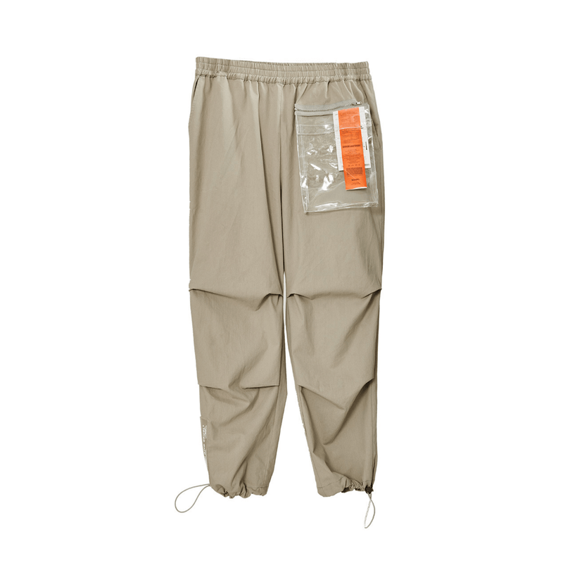 H/C PVC Pocket Nylon Pants