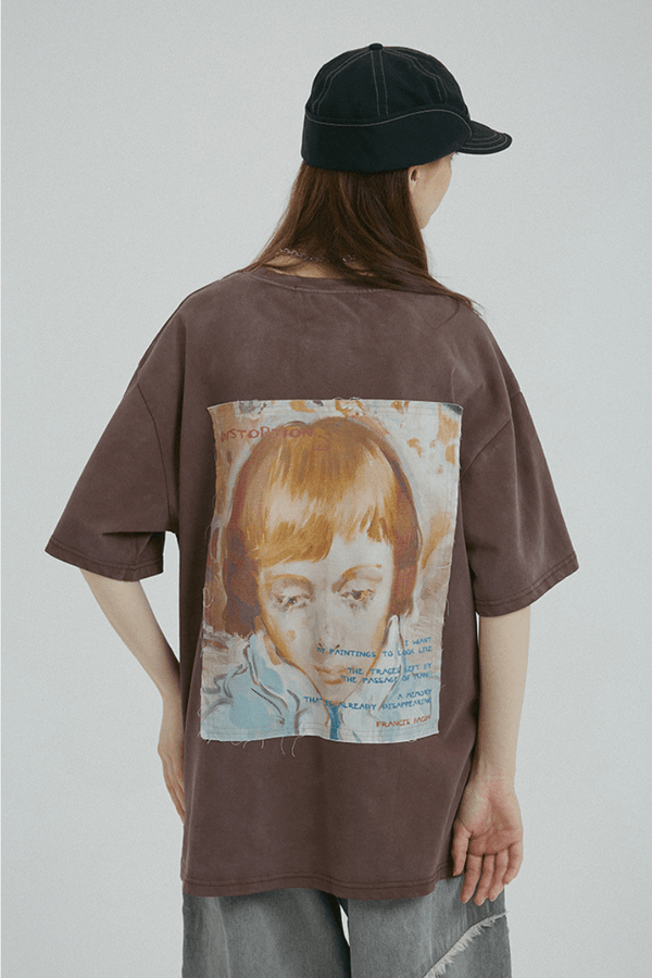 BLIND Distortion Painting Vintage Tee